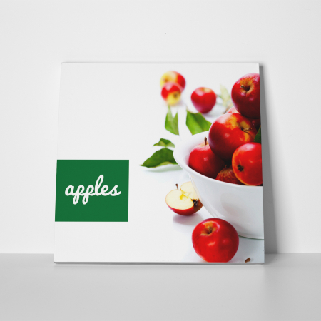 Tablou canvas bucatarie, Red Apples2