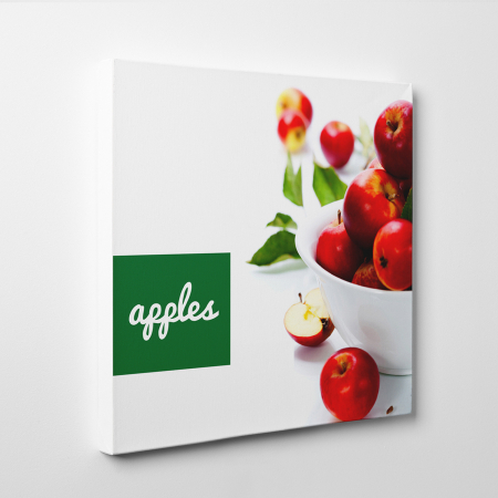 Tablou canvas bucatarie, Red Apples1