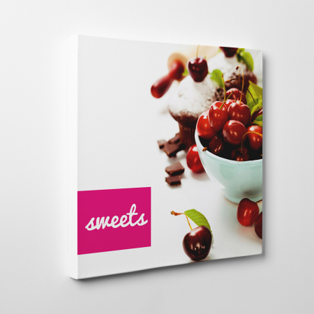 Tablou canvas bucatarie, Red Sweets1