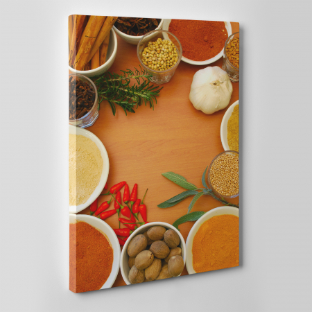 Tablou canvas bucatarie, Spices2