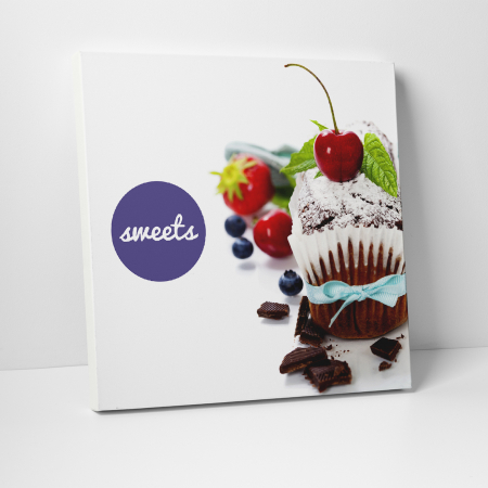 Tablou canvas bucatarie, Sweets0
