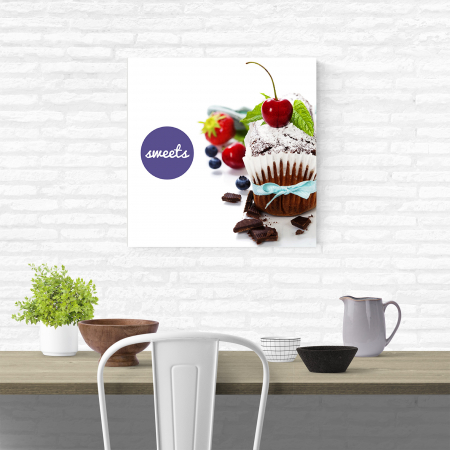 Tablou canvas bucatarie, Sweets1