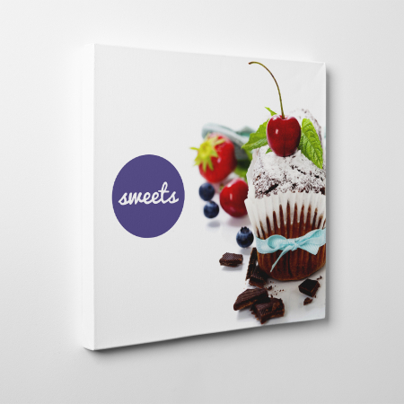 Tablou canvas bucatarie, Sweets3