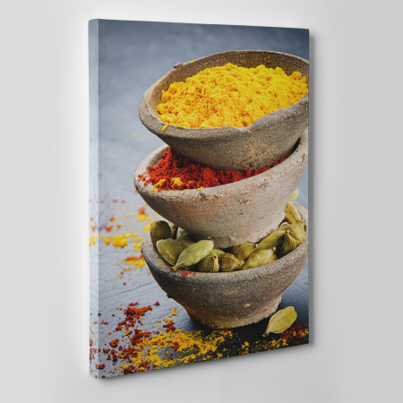 Tablou canvas bucatarie, Turmeric and Cardamon2
