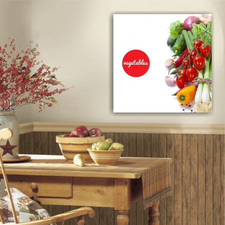 Tablou canvas bucatarie, Vegetables Salad2