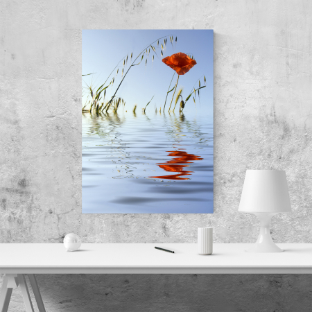 Tablou canvas floral, Water Reflections1