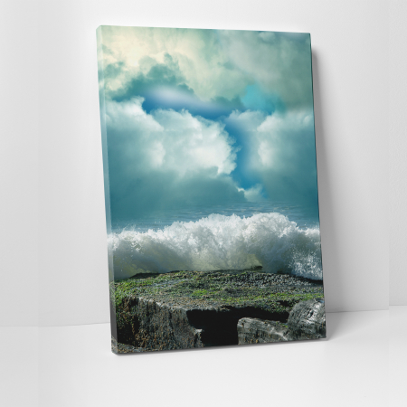 Tablou canvas natura, Ocean in Sky0