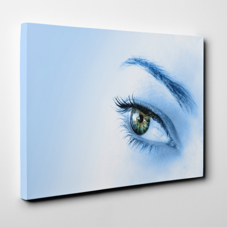 Tablou canvas people, Blue Eye1