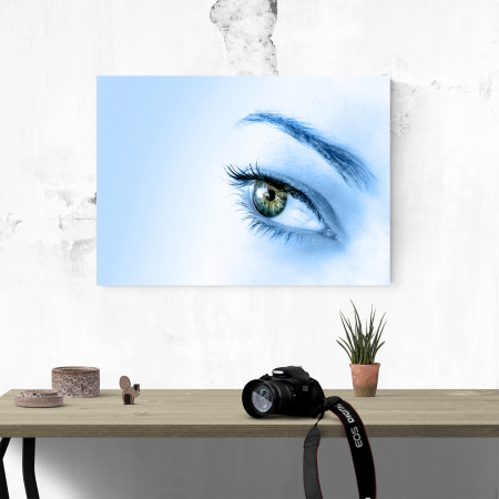 Tablou canvas people, Blue Eye3