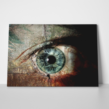 Tablou canvas people, The eye2