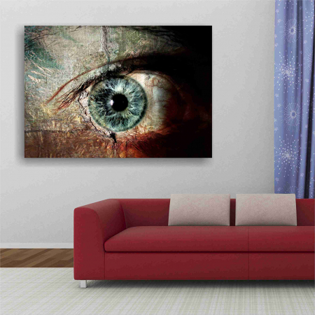 Tablou canvas people, The eye4