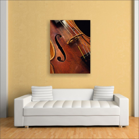 Tablou canvas retro, Violin2