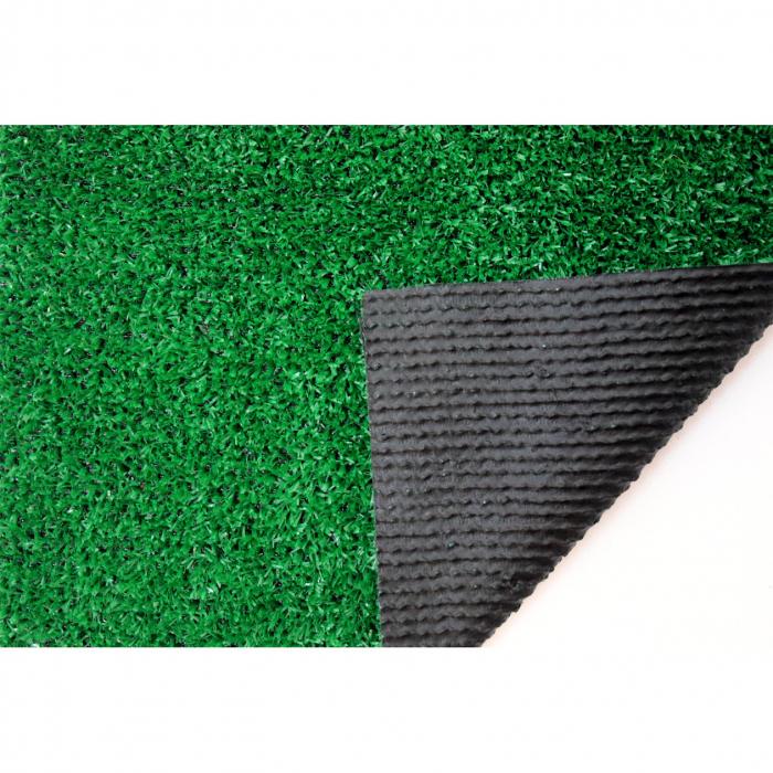 Covor Iarba Artificiala, Tip Gazon, Verde, 100% Polipropilena, 7 mm, 200x180 cm [3]
