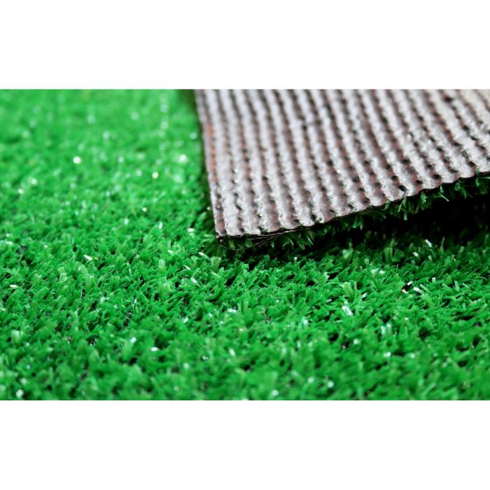 Covor Iarba Artificiala, Tip Gazon, Verde, 100% Polipropilena, 7 mm, 90x1100 cm [4]