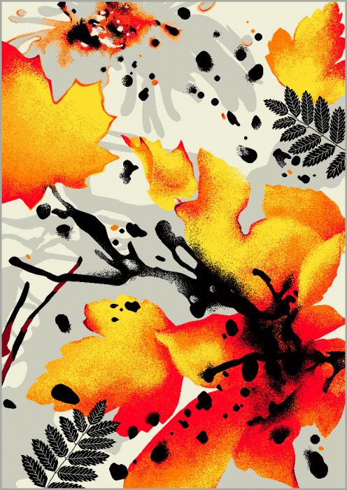 Covor Modern, Kolibri Multicolor 11186, 160x230 cm, 2200 gr/mp [0]