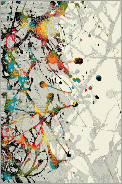 Covor Modern, Kolibri Abstract, 11187, Multicolor, 160x230 cm, 2200 gr/mp [0]