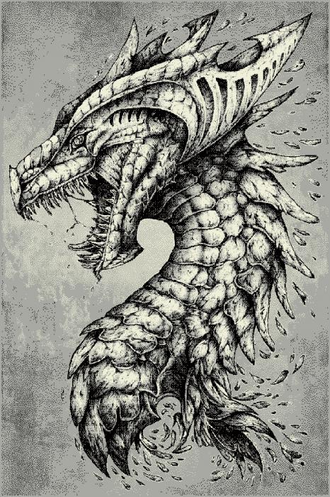 Covor Modern, Kolibri Dragon 11611, Gri, 120x170 cm, 2200 gr/mp [0]
