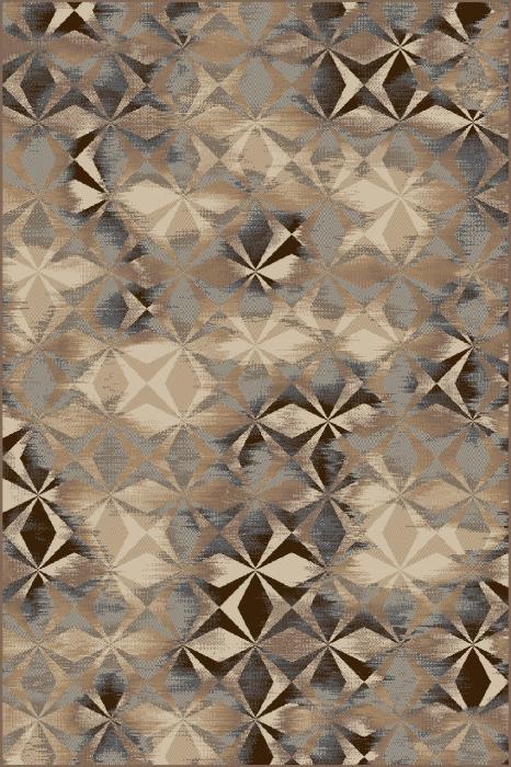 Covor Modern, Daffi 13038, Bej/Maro/Gri, 60x110 cm, 1700 gr/mp [0]
