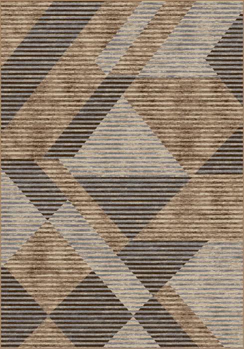 Covor Modern, Daffi 13126, Bej/Maro/Gri/Crem, 100x200 cm, 1700 gr/mp [0]
