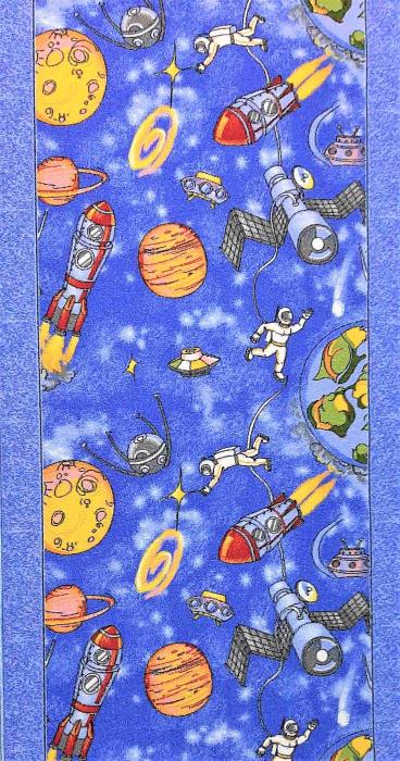 Traversa pentru Copii, Cosmos 1126, Albastru, 820 gr/mp [0]