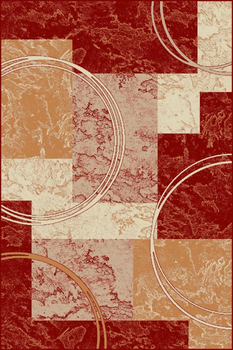 Covor Modern, Lotos 15001, Rosu, 80x150 cm, 1800 gr/mp [0]