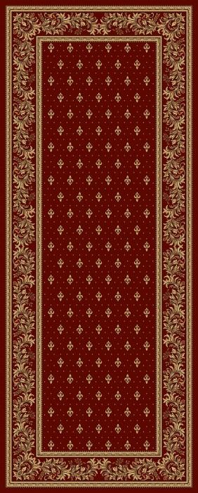 Covor Lotos 15033, Rosu, Model Bisericesc, 200x500 cm, 1800 gr/mp [0]
