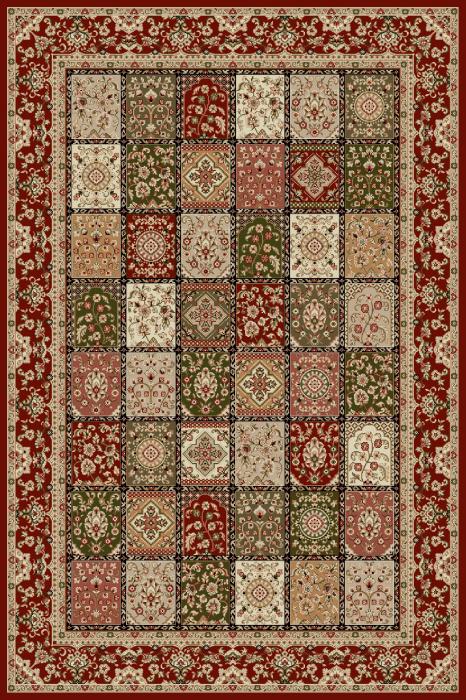 Covor Modern, Lotos 1518, Rosu, 100x200 cm, 1800 gr/mp 0