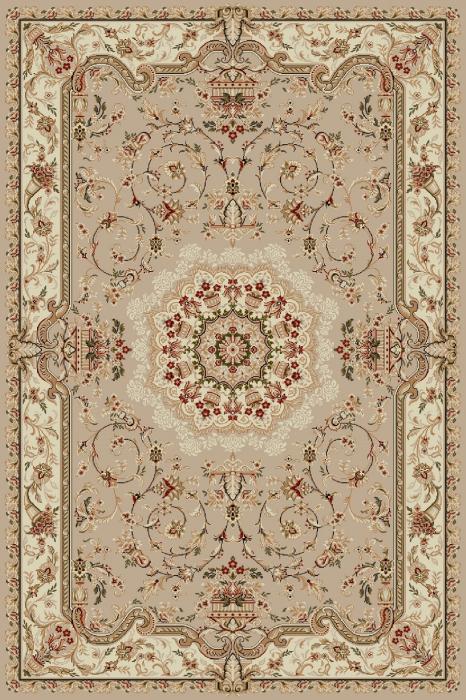 Covor Clasic, Lotos 1520, Bej / Crem, 80x150 cm, 1800 gr/mp [0]