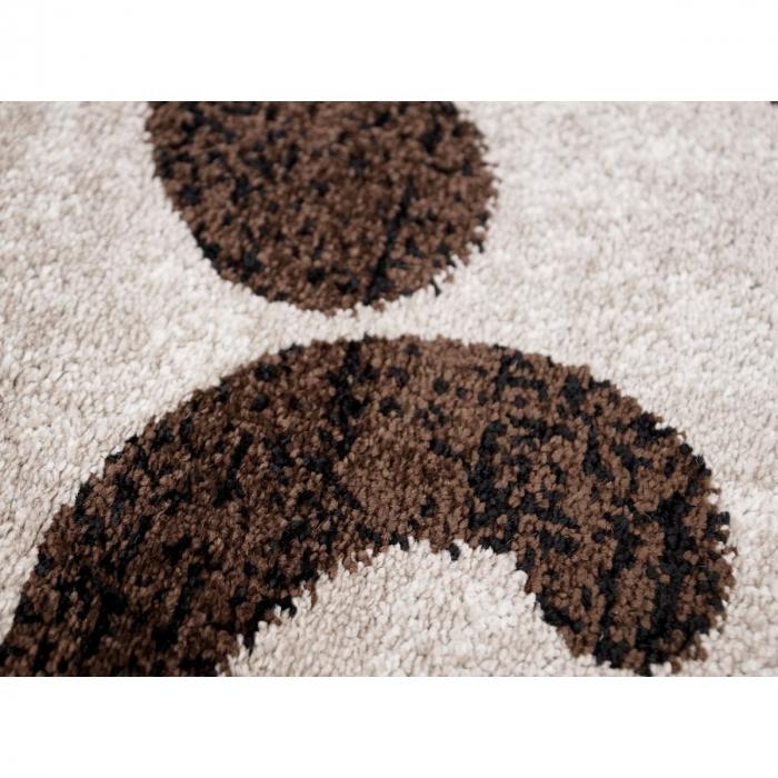 Covor Modern, Cappuccino 16028, Oval, 80x150 cm, 1700 gr/mp 5