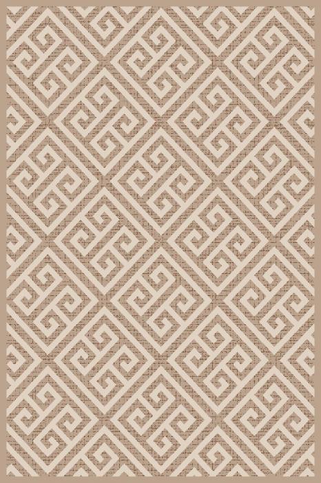 Covor Modern, Cappuccino 16063-10, Bej / Alb, 80x150 cm, 1700 gr/mp 0