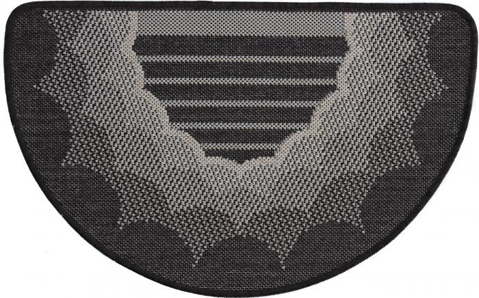 Covor Pentru Usa Intrare, Flex 19162-91, Antiderapant, Maro / Bej, 50x80 cm [0]