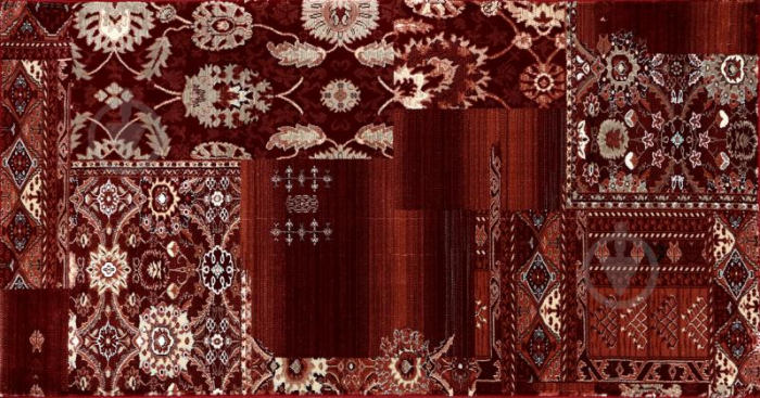 Covor Clasic, Cardinal 25509-210, Rosu Bordeaux, 80x150 cm, 2100 gr/mp [3]