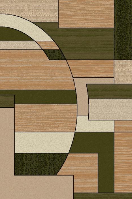 Covor Modern, Lotos 538, Verde, 150x230 cm, 1800 gr/mp [0]