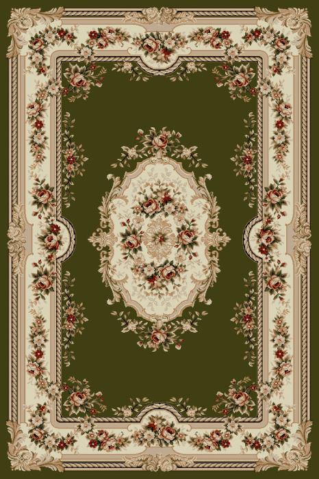 Covor Clasic, Lotos 575, Verde, 80x200 cm, 1800 gr/mp 0