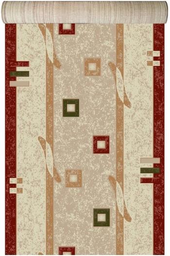 Traversa Covor, Lotos 579, Crem / Rosu, 1800 gr/mp 1
