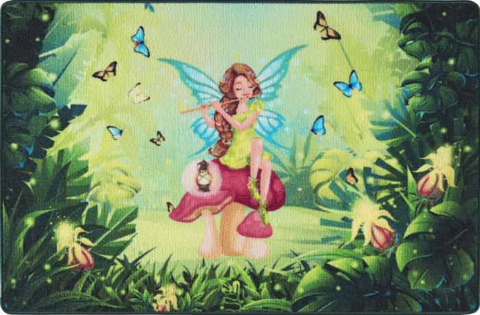 Covor Pentru Copii, Antiderapant, Fairy Song, 133x190 cm, 1275 gr/mp 0