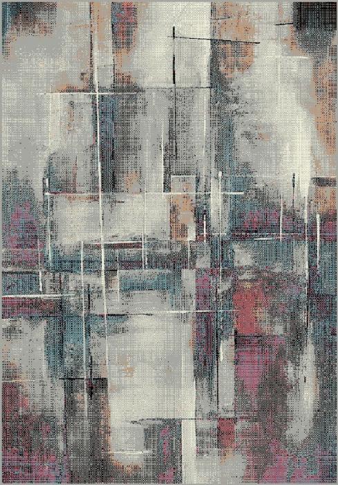 Covor Modern, Kolibri Abstract 11023, Multicolor, 160x230 cm, 2200 gr/mp [0]