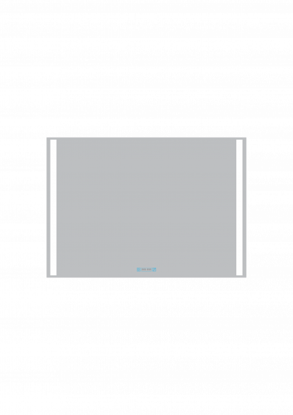 Oglinda cu Iluminare si incalzire , Rocca 2CLK, 700x1200mm 0