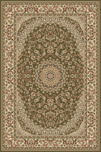 Covor Clasic, Lotos 1555, Verde, 160x230 cm, 1800 gr/mp 0