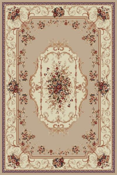 Covor Clasic, Lotos 507, Bej / Crem, 150x230 cm, 1800 gr/mp 0