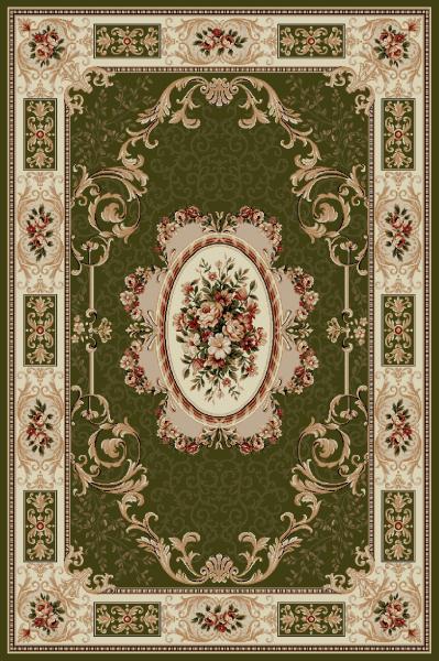 Covor Clasic, Lotos 542, Verde, 150x300 cm, 1800 gr/mp 0
