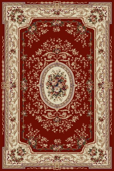 Covor Clasic Lotos 568, Rosu, 50x80 cm, 1800 gr/mp 0