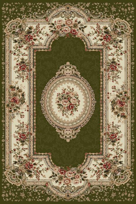Covor Clasic, Lotos 571, Verde, 100x200 cm, 1800 gr/mp [0]