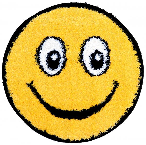 Covor Fantasy Smile, 12003-150, Rotund, Galben, 67x67 cm 0