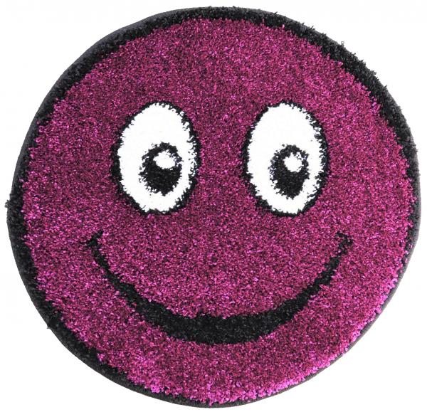 Covor Fantasy Smile, 12003-175, Rotund, Mov Inchis, 67x67 cm, 1700 gr/mp [0]