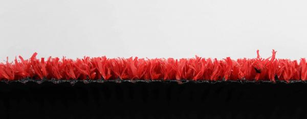 Covor Iarba Artificiala, Tip Gazon, Rosu, 100% Polipropilena, 7 mm, 100x700 cm [2]