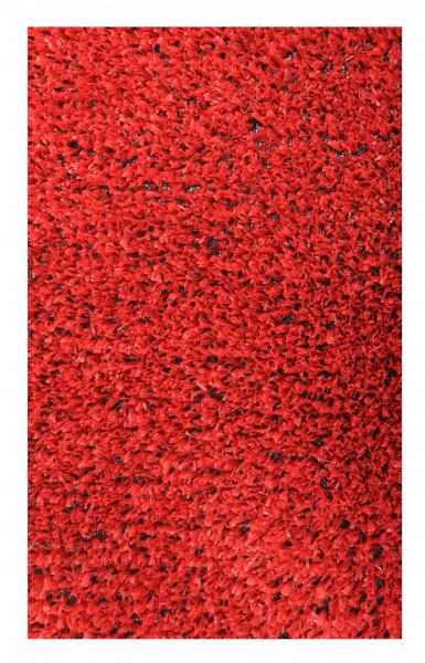 Covor Iarba Artificiala, Tip Gazon, Rosu, 100% Polipropilena, 7 mm, 200x400 cm [0]