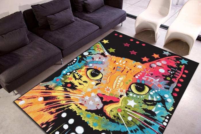 Covor Kolibri Pisica 11011, Multicolor, 160x230 cm, 2300 gr/mp 1