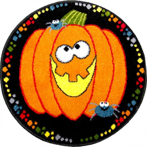 Covor Kolibri, Rotund, Halloween Dovleac, 67x67 cm, 2300 gr/mp [0]