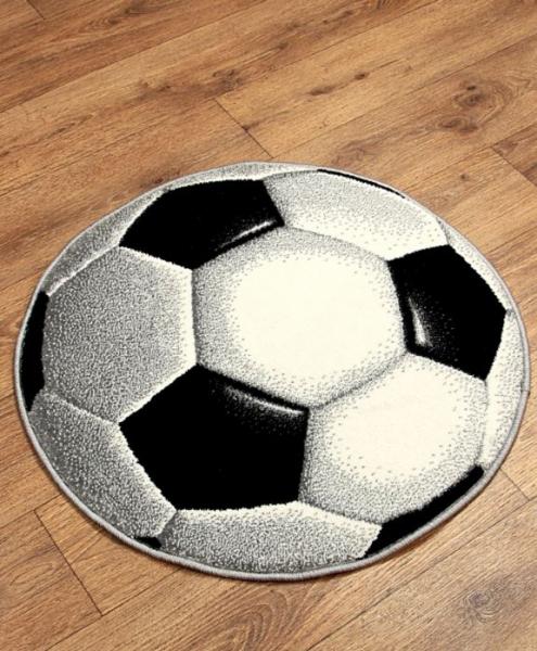 Covor Kolibri, Rotund, Minge Fotbal 01 UEFA 2020, 67x67 cm, 2300 gr/mp [1]